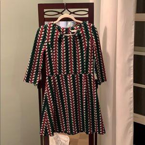 Joy Joy Lipstick Print Dress